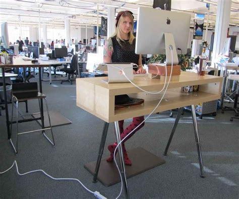 ikea standing desk hack ideas ikea standing desk