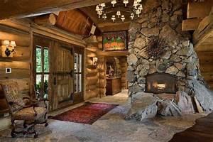 Impressive, Interior, Design, For, Wooden, Houses