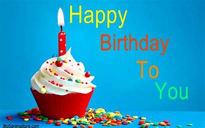 Birthday Wishes Happy Awesome Greetings Cupcake