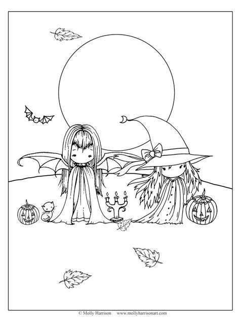 Pin by Pamela Smith on Coloring Pages   Witch coloring