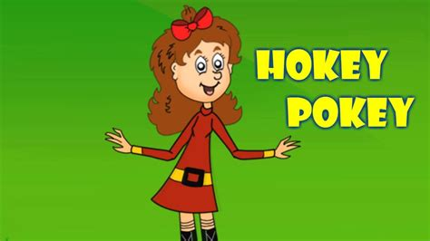 hokey pokey animated nursery rhyme  kids youtube