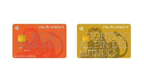 Banco Ing Direct Tarjeta De Cr 233 Dito Ing Direct Visa Oro