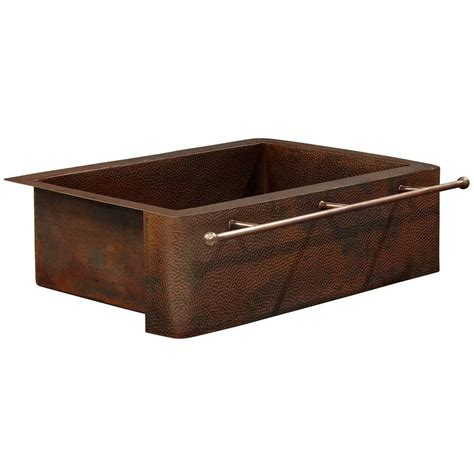 Home Depot Copper Farmhouse Sink by Sinkology Rodin Farmhouse Apron Front Handmade Solid
