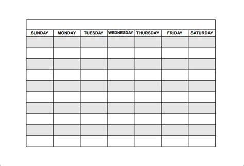schedule template task list templates