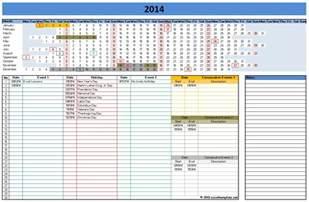 Schedule Template For Excel Calendar Template 2014 Excel Sanjonmotel
