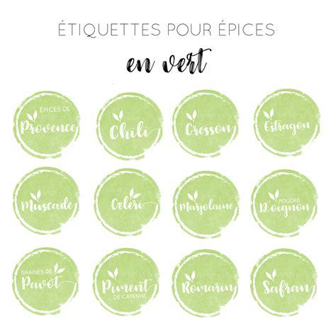 iquette bureau en gros étiquettes à épices aquarelle vert 100 étiquettes