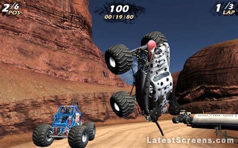 monster jam screenshots  xbox  wii nintendo ds