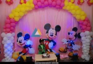 Birthday party Decoration at Home – Themed Birthday