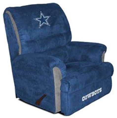 dallas cowboys big recliner looks comfortable