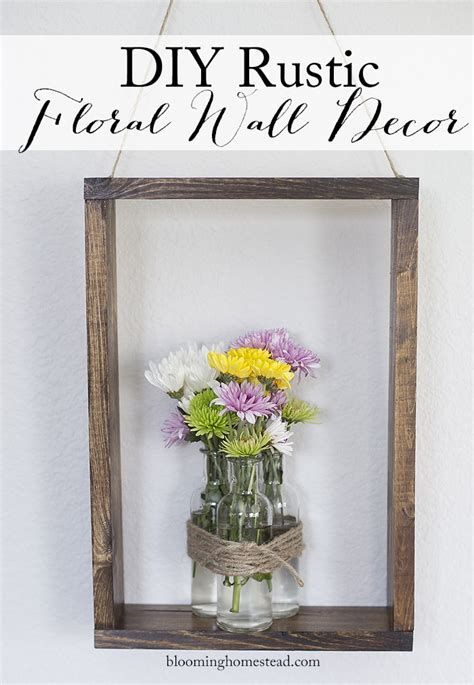 So get inspired and ready to create. DIY Rustic Wall Decor - Lil' Luna