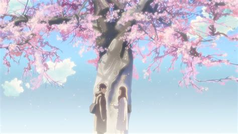High Resolution Wallpaper Of Anime 5 Centimeters Per