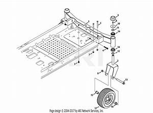 Troy Bilt 17afcacs011 Mustang 42 Xp  2013  Parts Diagram For Front Axle