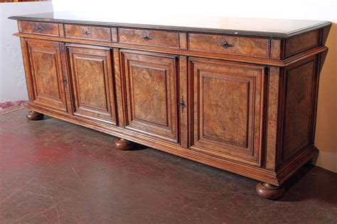 Antique Marble Top Sideboard by Antique Walnut Buffet Sideboard With Marble Top At