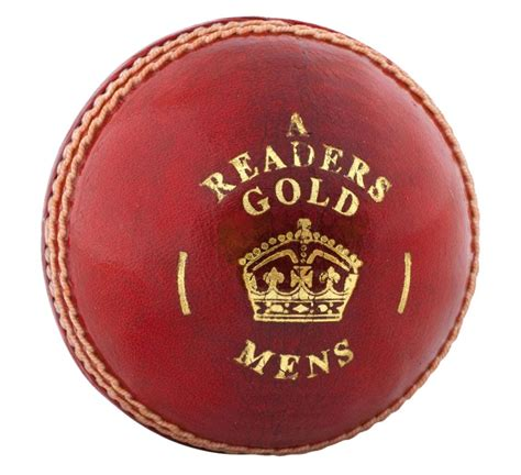 readers gold  cricket ball
