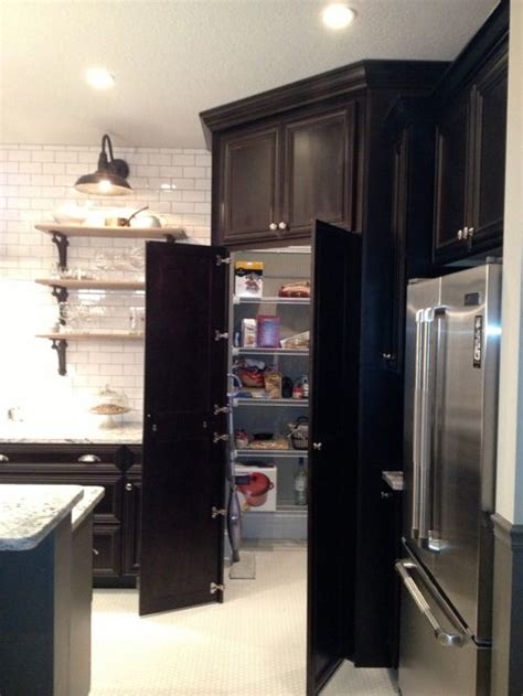 corner kitchen pantry ideas hidden corner pantry home design ideas pictures remodel and decor