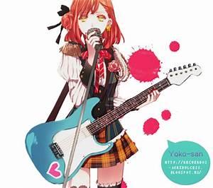 Anime Girl Rock by Momo-Honey on DeviantArt