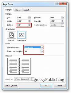 How to create booklets using microsoft word 2013 for Word 2013 book template
