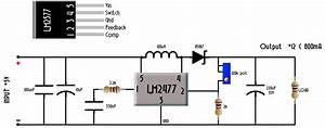 Step Up Converter Circuit