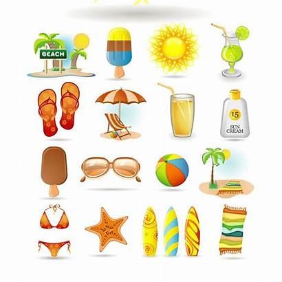 Summer Vector Clip Beach Printable Graphics Icon