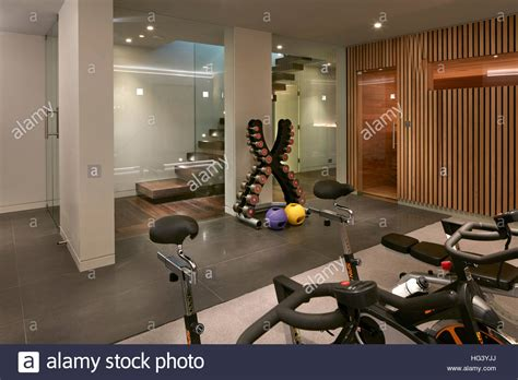 residential building london uk interior view basement
