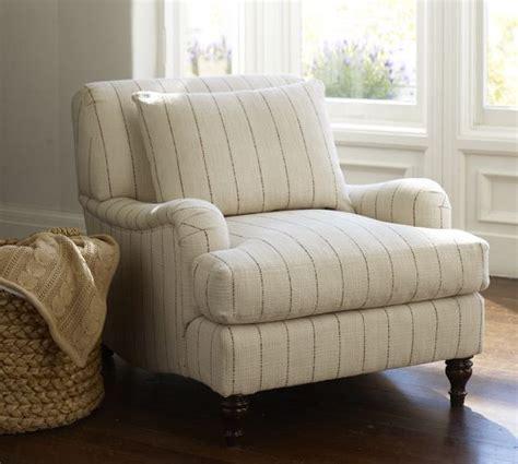 carlisle upholstered armchair pottery barn home