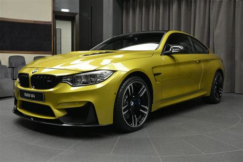 Bmw Abu Dhabi Motors Gets Hold Of Austin Yellow M4 With M