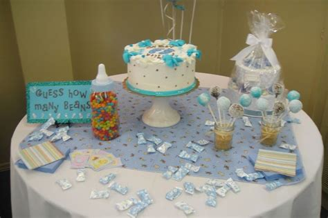 baby shower table decorations health  fitness
