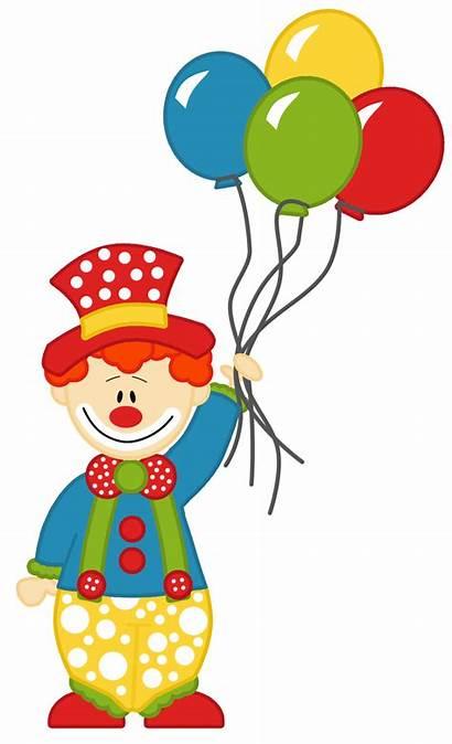 Clown Balloon Coloring Clipart Transparent Webstockreview Circo