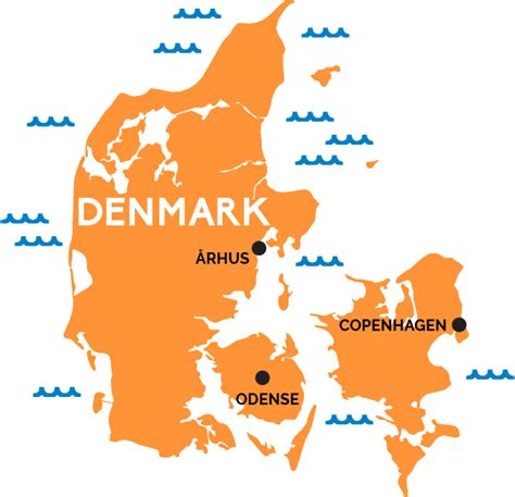 map  denmark railpasscom