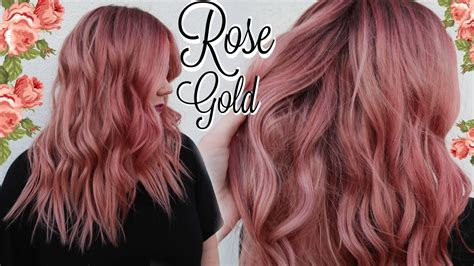 My Rose Gold Hair Color Tutorial ☾ (best Formula Ever