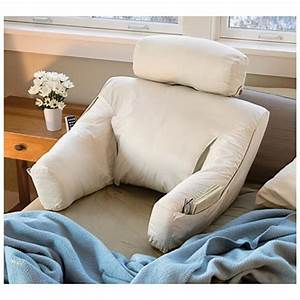 Bed rest pillowbed lounge support pillow kdxxl bedroom for Bed lounge back support pillow