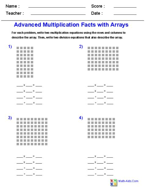 math array worksheets resultinfos