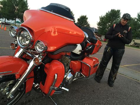 Motorcycle Riders Break Biker Stereotypes