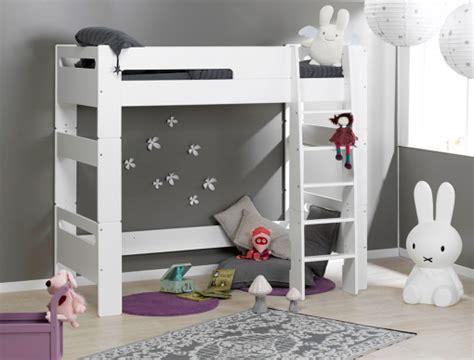chambre enfant lit mezzanine lit mezzanine chambre enfant blanc