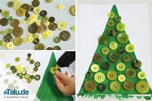 Basteln Mit Knöpfen : weihnachtskarten basteln mit kindern diy tutorial ~ Frokenaadalensverden.com Haus und Dekorationen