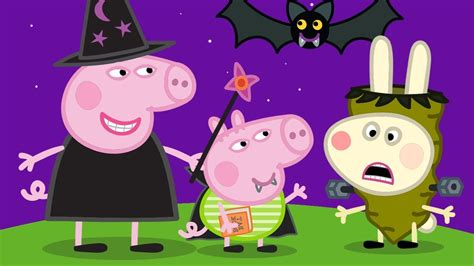 Peppa Pig English Episodes  Trick Or Treat? Happy Halloween  Peppa Pig Official Youtube