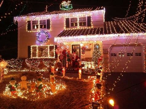 rockaway township mans christmas lights  amazing