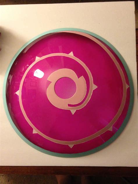 diy steven universe rose quartz shield tutorial ohi