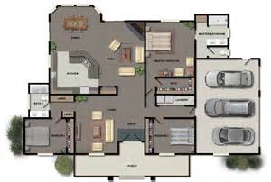 Home Floor Plan Design Inspiration by House Plans