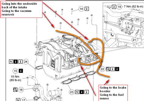 2006 F150 Fuel Line Diagram by I A2004f 150 5 4l And Need A Vacuum Hose Diagram For