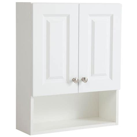 Glacier Bay Bathroom Storage Cabinet by Glacier Bay Lancaster 20 1 2 In W X 25 3 5 In H X 7 7 10
