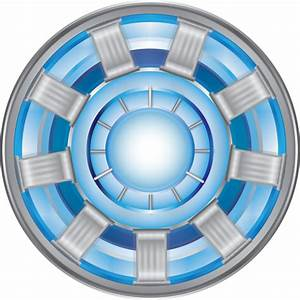 Arc Reactor - Iron Man Vector Image by mine22mine on ...