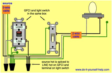 Wiring Diagrams For Gfci Outlets Yourself Help