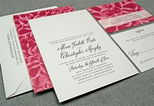 elegant wedding invitations floral print onewedcom With wedding invitations printing vancouver