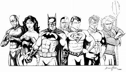 Justice League Coloring Pages Lego Clipart Cartoon