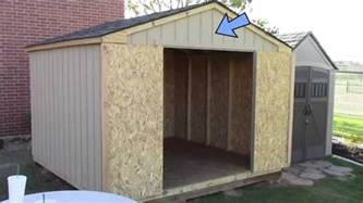 building a pre cut wood shed what to expect home depot