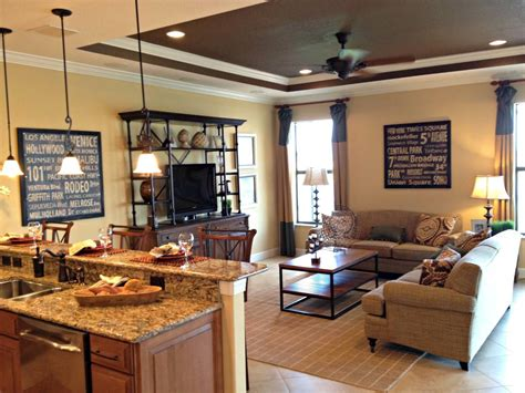 ideas  design comfortable  family room interior
