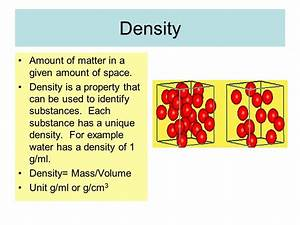 Properties of Matter Mass Volume Density. - ppt download