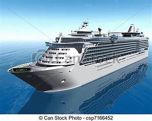 Cruise Ship clipart passenger ship - Pencil and in color ...