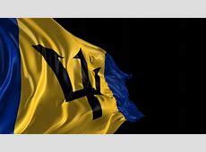 Flag Of Barbados Beautiful 3d Animation Of Barbados Flag